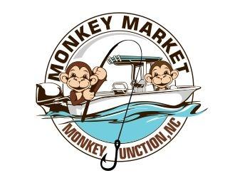 Monkey Market logo design by veron