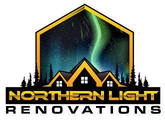 Northern Light Renovations logo design