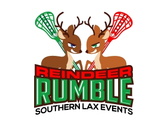 Reindeer Rumble logo design
