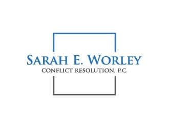Sarah E. Worley Conflict Resolution, P.C. logo design