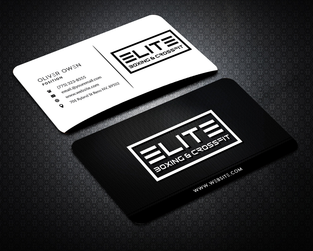 Elite Boxing & Crossfit brand identity winner