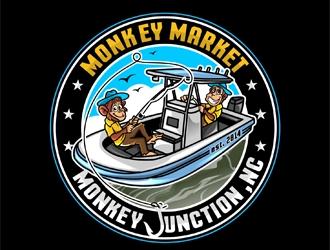 Monkey Market logo design by DreamLogoDesign