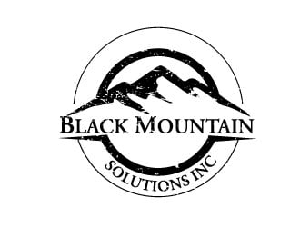 Black Mountain Solutions, Inc.  logo design