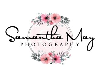 Samantha May Photography logo design
