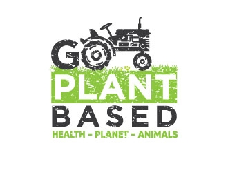 GO PLANT-BASED logo design