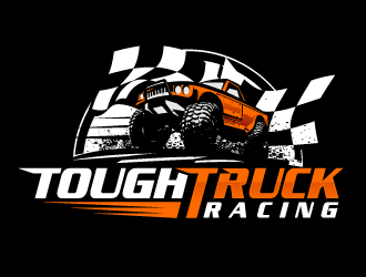 Tough Truck Racing logo design