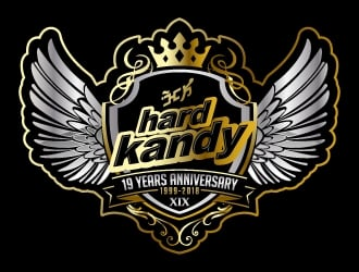 Hard Kandy logo design