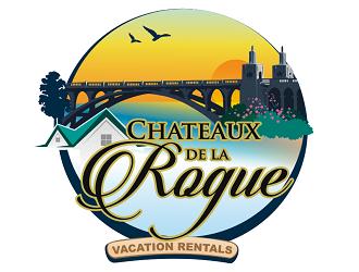 Chateaux de la Rogue logo design