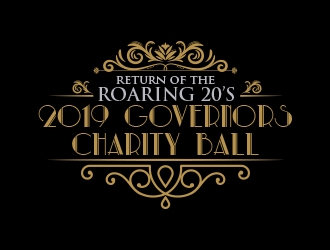 2019 Governors Charity Ball logo design