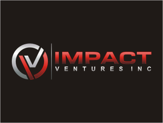 Impact Ventures Inc. logo design