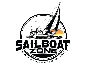 Sailboat Zone logo design