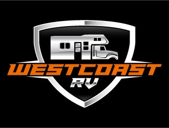 West Coast RV logo design