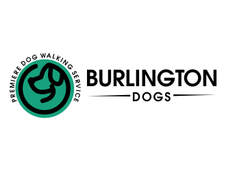 Burlington Dogs logo design