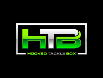 Hooked Tackle Box logo design