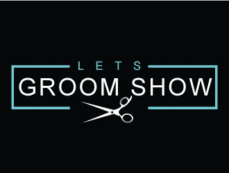 LETS Groom SHow logo design