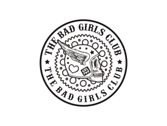 The Bad Girls Club  logo design
