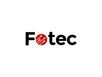 Fotec logo design