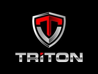 TRITON logo design
