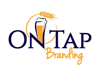 On Tap Branding logo design
