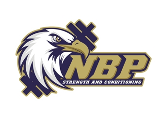 North Broward Prep(or acronym: NBP) Strength and Conditioning logo design