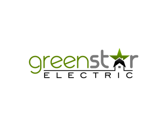 Green Star Electric logo design