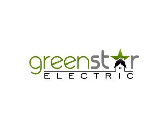 Green Star Electric logo design