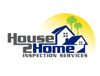 House 2 Home Inspection Services  logo design