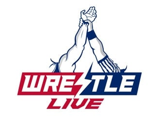 Wrestle Live logo design