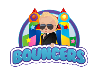 Bouncers logo design
