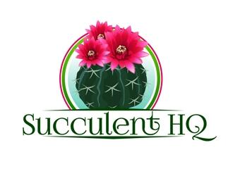 SucculentHQ.com logo design