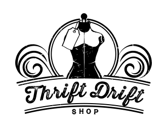 Thrift Drift logo design