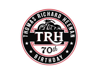 Tom Richard Heenan (TRH) logo design