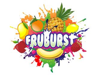 FRUBURST logo design