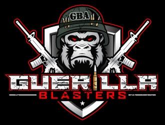 GUERILLA BLASTERS  logo design
