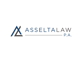 Asselta Law, P.A. logo design