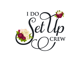 I Do Set Up Crew logo design