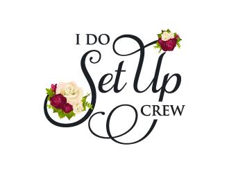 I Do Set Up Crew logo design