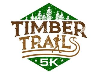 Timber Trails 3K logo design