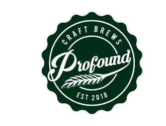 Profound Brewing  logo design
