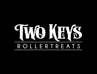 TWO KEYS ROLLER TREATS logo design