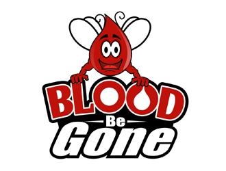 Blood Be Gone logo design