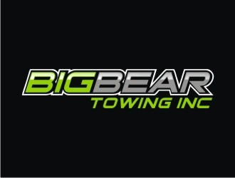 Big Bear Towing Inc logo design