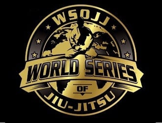 WSOJJ WORLD SERIES OF JIU-JITSU logo design