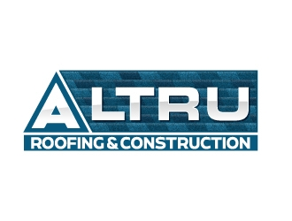 Altru Roofing & Construction logo design