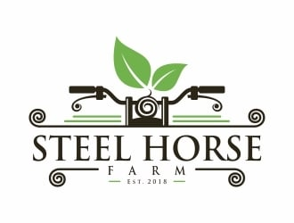 Steel Horse Farm  logo design