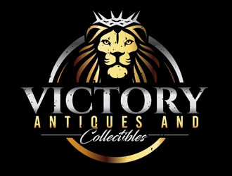 Victory Antiques and Collectibles logo design by DreamLogoDesign