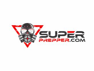 SuperPrepper.com logo design