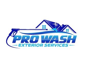 Pro Wash Exterior Services  logo design