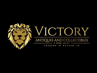 Victory Antiques and Collectibles logo design by jaize