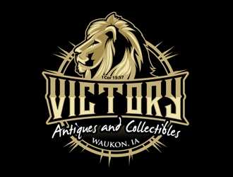 Victory Antiques and Collectibles Logo Design